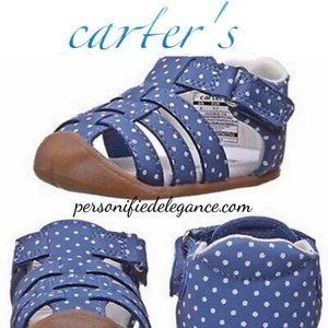 Carter's Every Step Stage 1 Crawl Shoes Sz 2 or 3